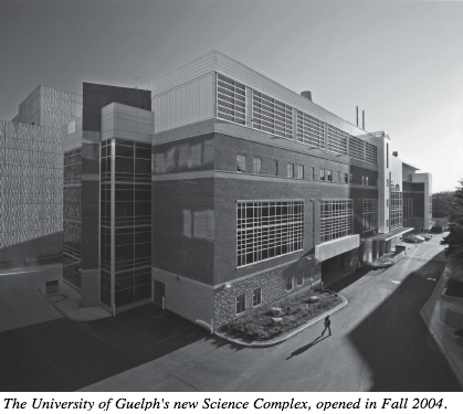 Picture of the U. of Guelph's new Science Complex